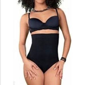 30% OFF SHAPERMINT Black High Waist Shaper Panty S